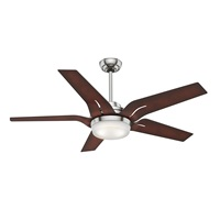 Casablanca Indoor Ceiling Fan with LED Light and Remote Control - Correne Gables 56 inch