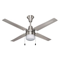 Craftmade BEA48BNK4C1 Beacon 48 inch Ceiling Fan with LED Light Kit