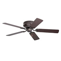 Emerson Ceiling Fans CF805SORB Snugger 52 Inch Low Profile Hugger Ceiling Fan Light Kit Adaptable Oil Rubbed Bronze Finish