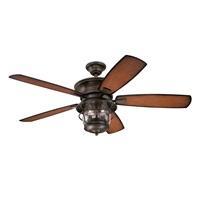 Westinghouse Lighting Westinghouse 7800000 Brentford 52 Inch Aged Walnut Indoor Outdoor Ceiling Fan