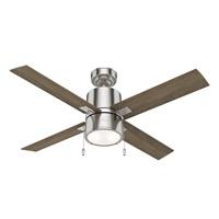 Hunter Fan Company 54214 Beck Ceiling Fan, 52, Brushed Nickel