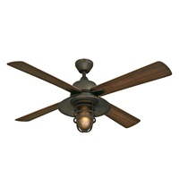 Westinghouse Lighting 7204300 Indoor Outdoor Ceiling Fan, 52 inch, Oil Rubbed Bronze Finish